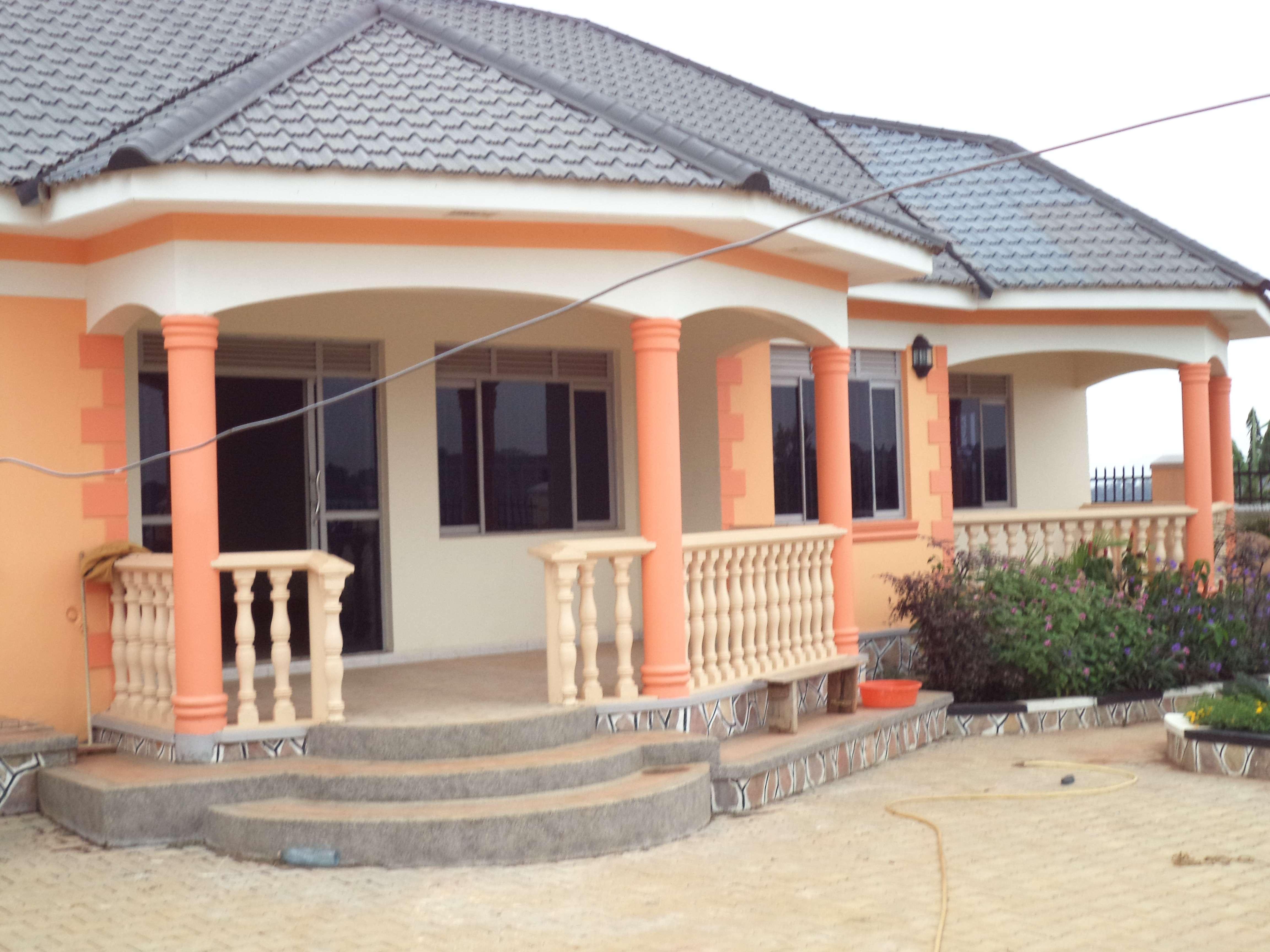 Single Floor Houses Uganda Modern House