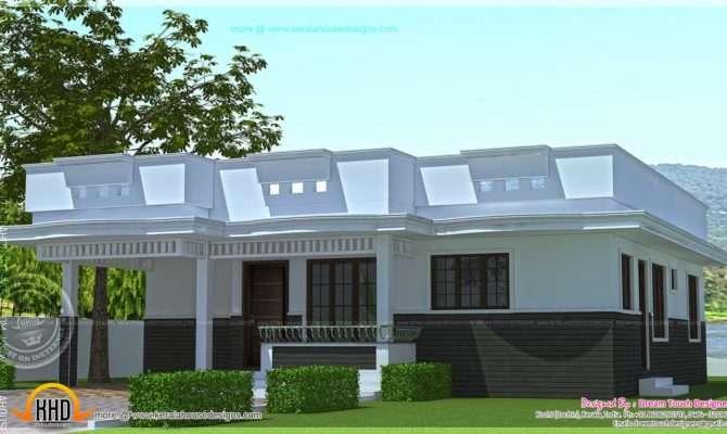Single Home Designs Floor House Elevation Including