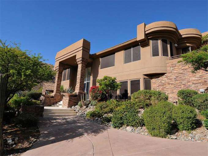 Single Home Sales Fabulous Hillside Contemporary