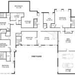 Single Level House Plans Shaped
