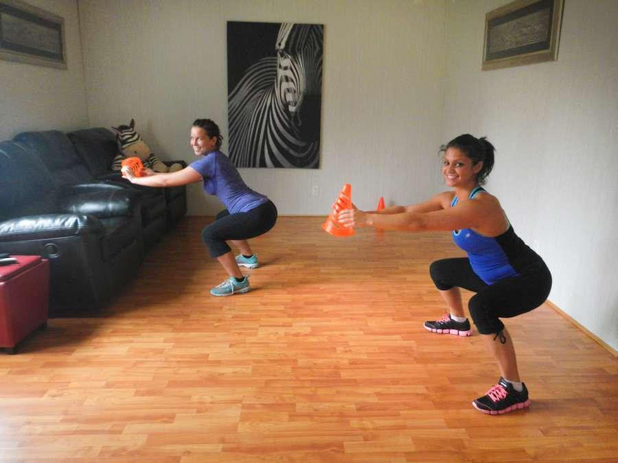 Single Person Strengthening Exercises Girl Jitsu