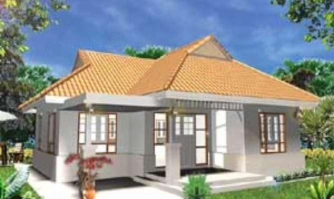 Single Storey Bungalow Modern House Plans Style