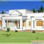 Single Storey Kerala House Model Plans