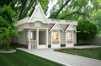 Single Story Building Exterior Design Home