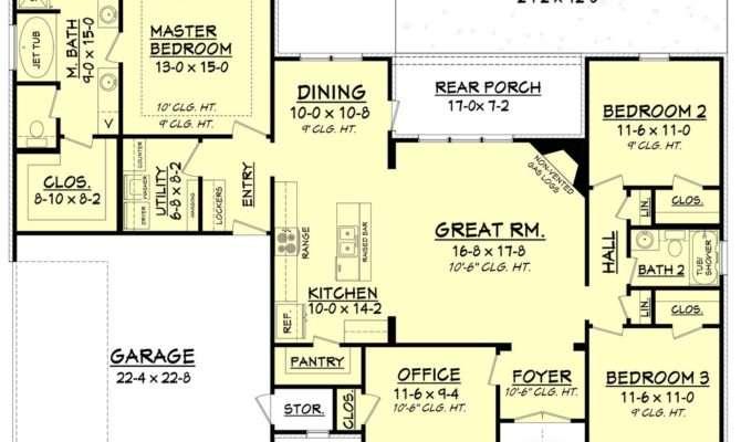 Single Story Craftsman Style House Plans Beautiful