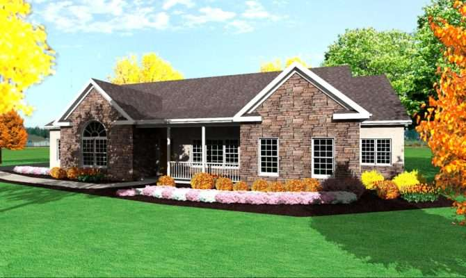 Single Story House Plans Build One Floor Home