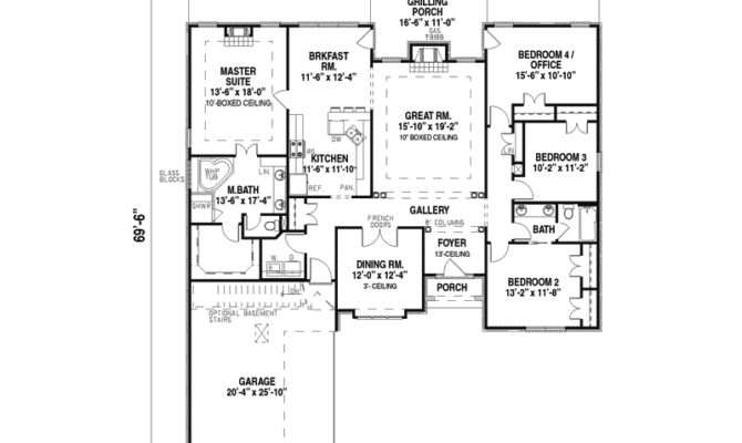 Single Story House Plans Design Interior