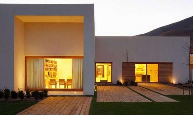 Single Story House Plans Photography Above Segment Modern