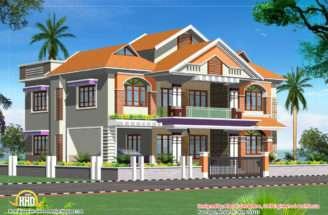 Single Story Luxury House Plans Second Sun