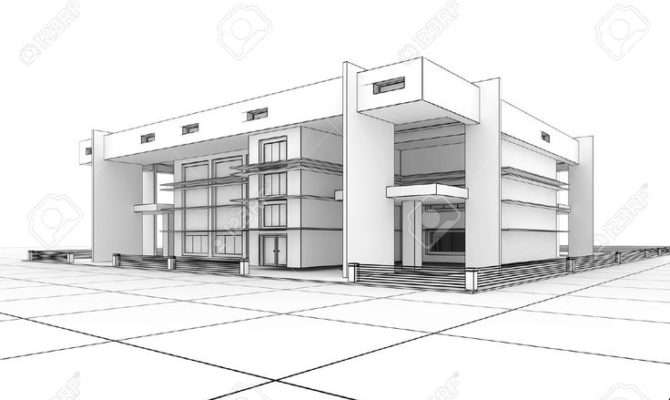 Sketches Modern Houses Google Search Things Draw