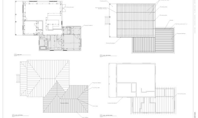Sketchup House Plan Layout