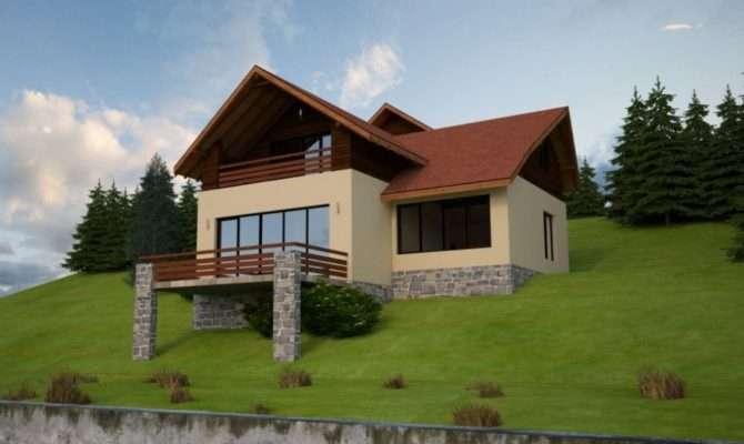 Slope House Plans Functional Design