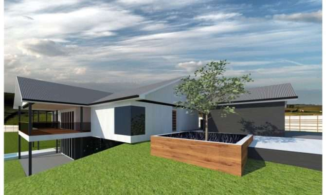 Sloped Block House Designs Home Design Style