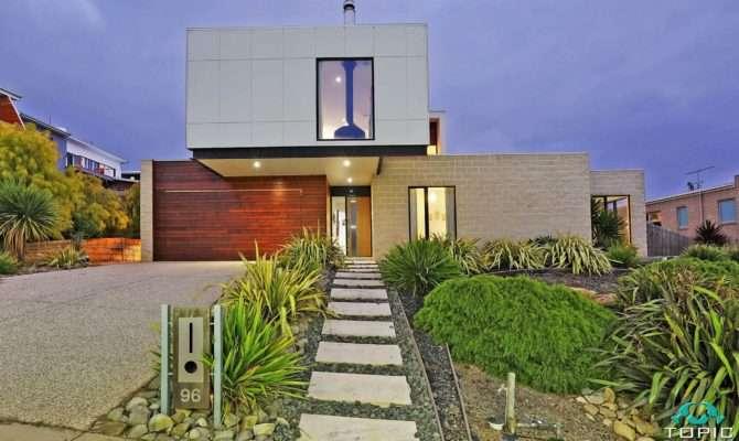 Sloping Block House Designs Geelong Split Level Home