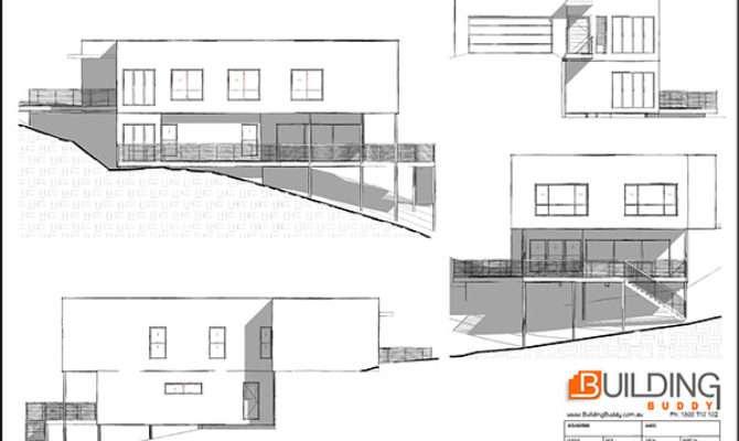 Sloping Lot House Plans Building Buddy Custom