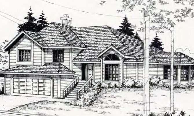 Sloping Lot House Plans Hillside Daylight