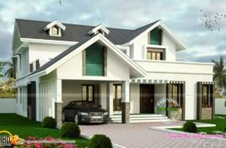 Sloping Roof House Dormer Windows Modern Interior Designs