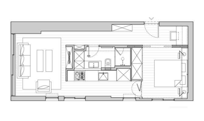Small Apartment Floor Plan