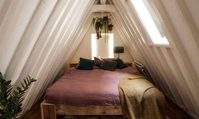 Small Attic Bedroom Photos