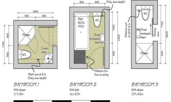 Small Bathroom Layouts Shower Plan