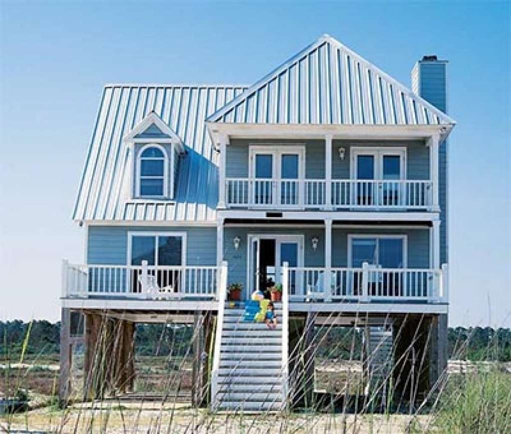 Small Beach Cottage Plans Coastal House