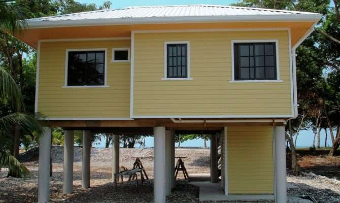 Small Beach House Caribbean Island