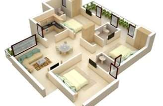 Small Bedroom Floor Plans Interior Design Ideas