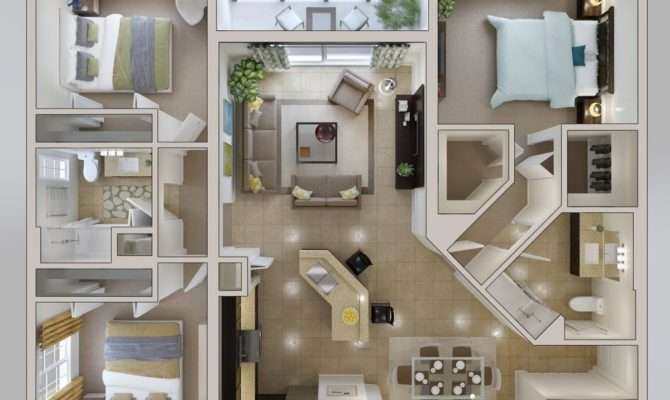 Small Bedroom House Plan Interior Design Ideas