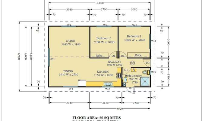 Small Bedroom House Plans Real Estate