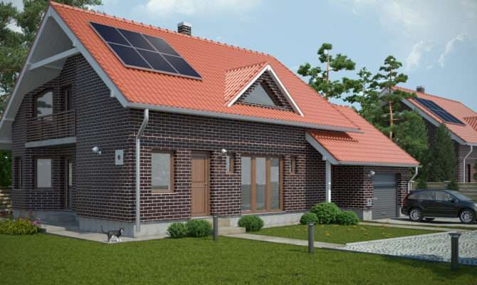 Small Brick House Portfolio Work Evermotion