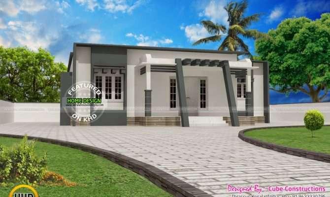 Small Budget Contemporary House Kerala Home Design