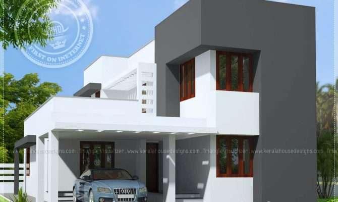 Small Budget Modern House Feet Kerala Home Design