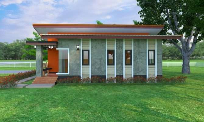 Small Bungalow House Design Concept Home