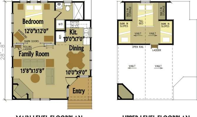 Small Cabin Designs Loft Floor Plans