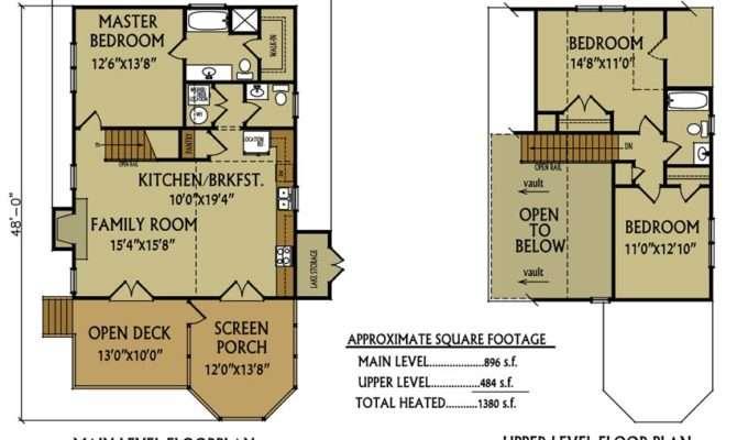 Small Cabin Floor Plan Bedroom Max Fulbright Designs