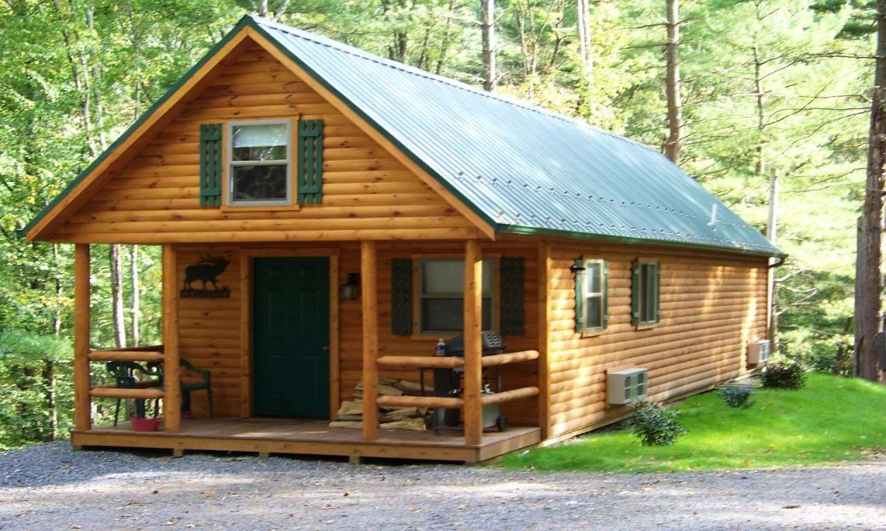 Small Cabin Plans Modern House Plan