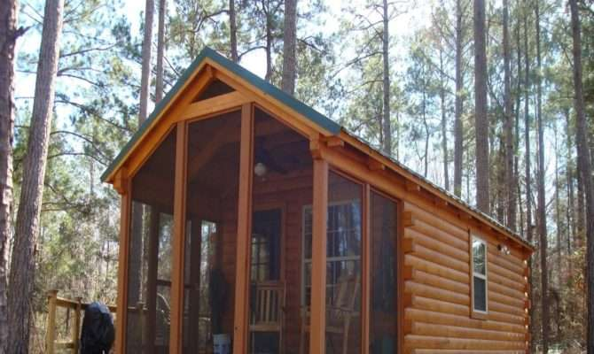 Small Camping Cabin Plans Wilderness