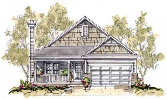 Small Cottage House Plans Porches Cozy