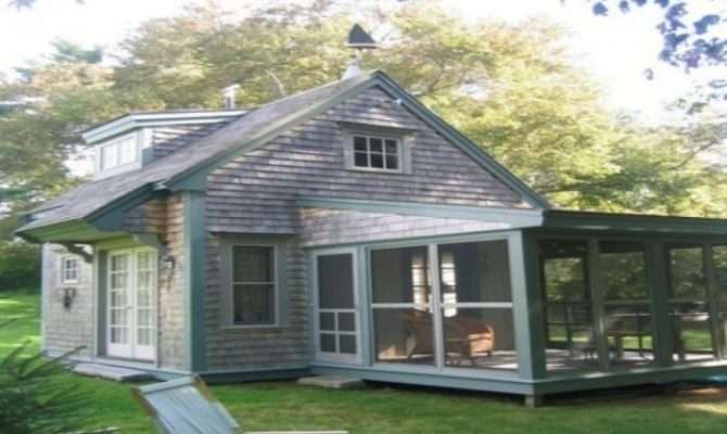 Small Cottage Plans Porches House Floor