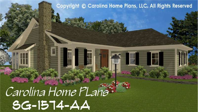 Small Country Style House Plan Affordable Home