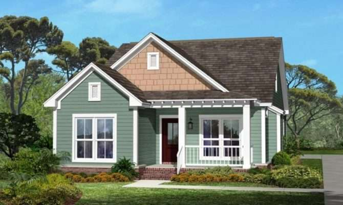 Small Craftsman Style House Plans