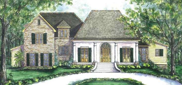 Small Creole Cottages Plans Cozy Cottage Southern