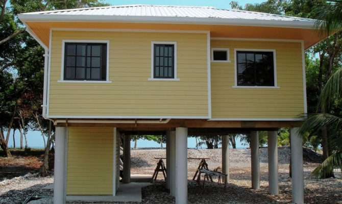 Small Elevated Beach House Interior Design Ideas