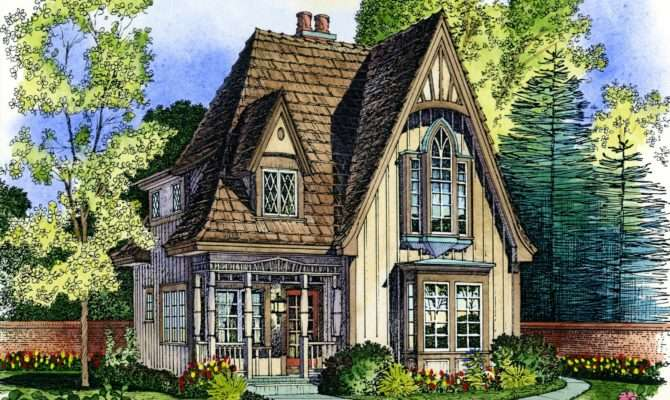 Small English Cottage House Plans Planning
