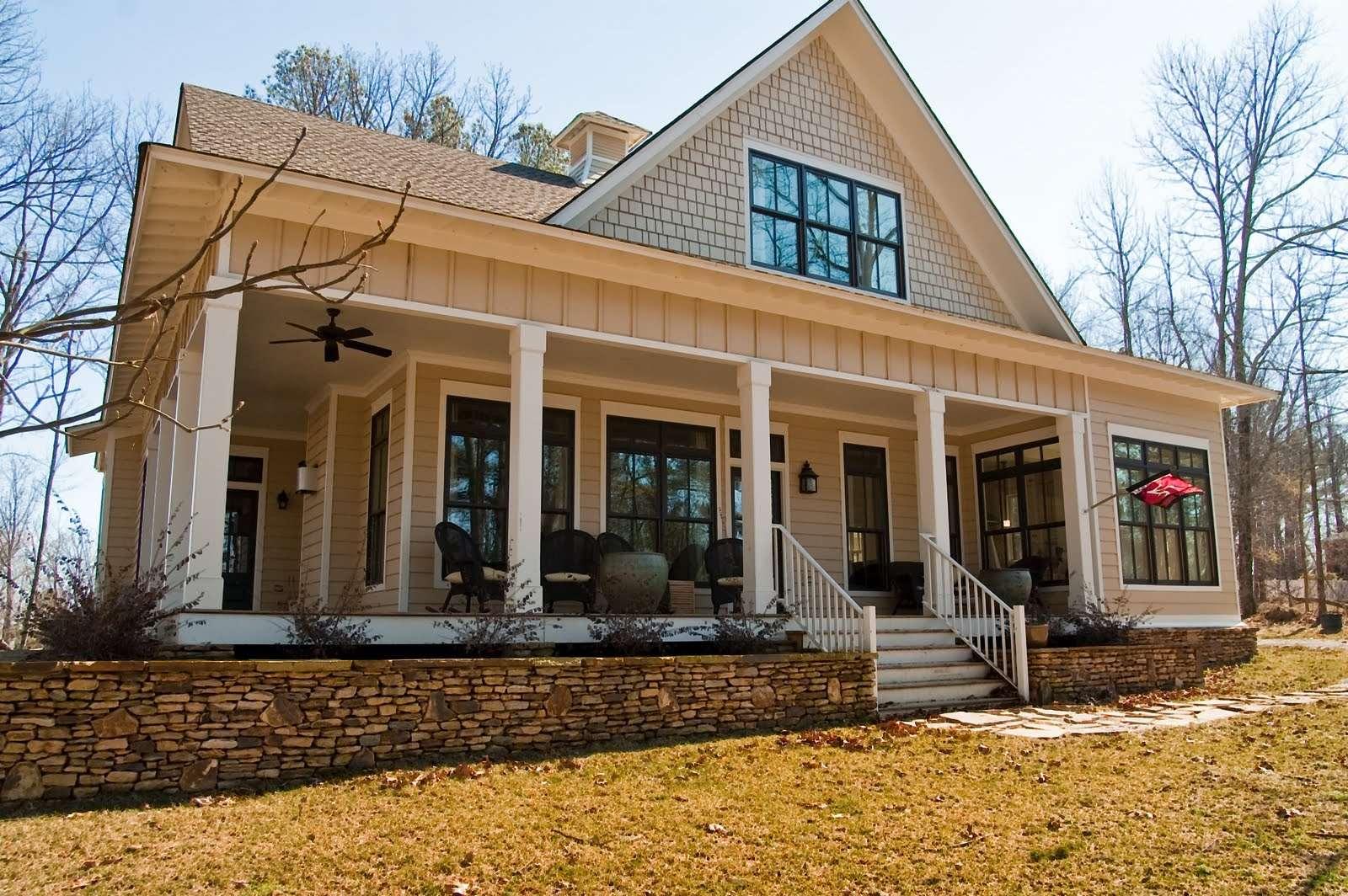 Small Farmhouse House Plans Wrap Around Porch