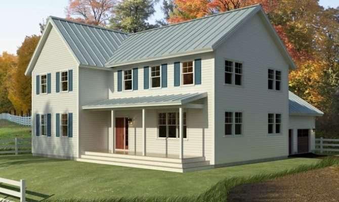 Small Farmhouse Plans Porches Simple Unique House