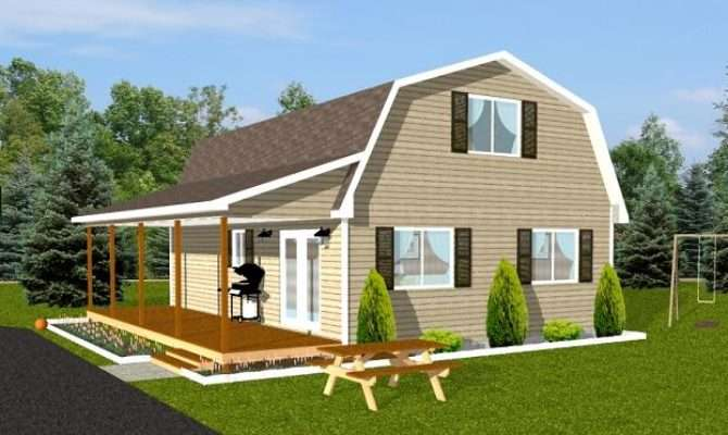 Small Gambrel Home Plans Joy Studio Design Best
