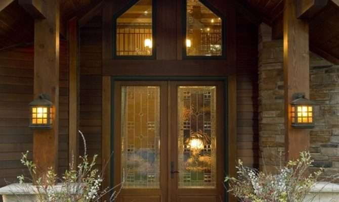 Small Home Entrance Decorating Ideas Lighting