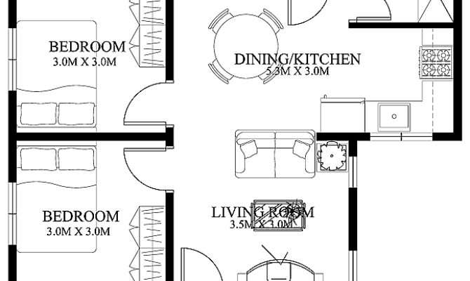 Small Home Floor Plans House Designs Shd