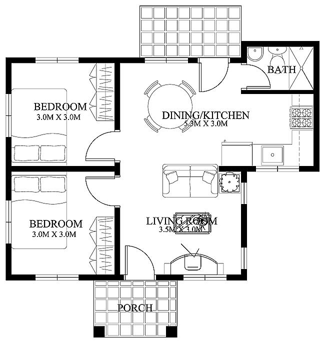 Small Home Floor Plans House Designs Shd